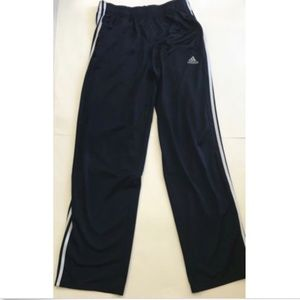 Adidas Track Pants Men'sNavy Blue/white   Work Out